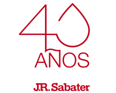J.R. SABATER celebrates its 40th anniversary.