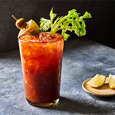 Bloody Mary con salsa picante de tabasco Merry