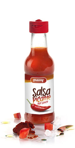 Enjoy the hot spicy sauce of Merrysab